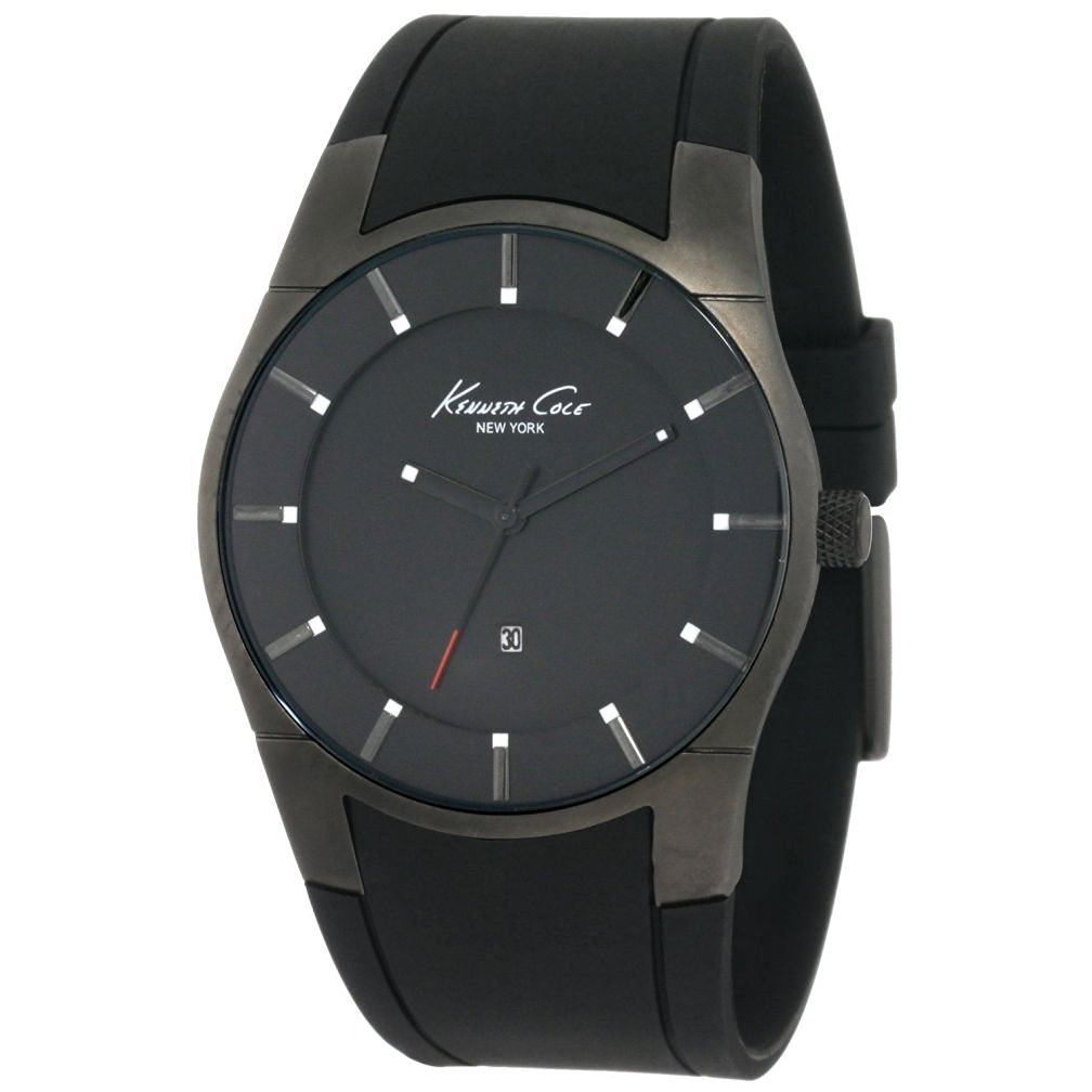 Get Quotations Kenneth Cole New York Men S Super Sleek Collection Polyurethane Strap Watch Kc1