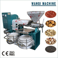 Sunflower oil processing machine, seed oil extraction machine with electric heating system