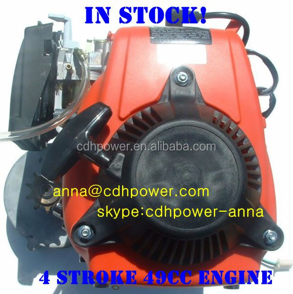 EPA Approved 4 Stroke 49cc motorized Bicycle Engine Kit/ HuaSheng Engine/bicycle engine kit