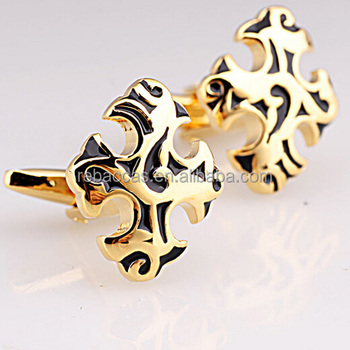 Sale Quality Metal Custom Promotional Manufacture Enamel Cufflinks ...