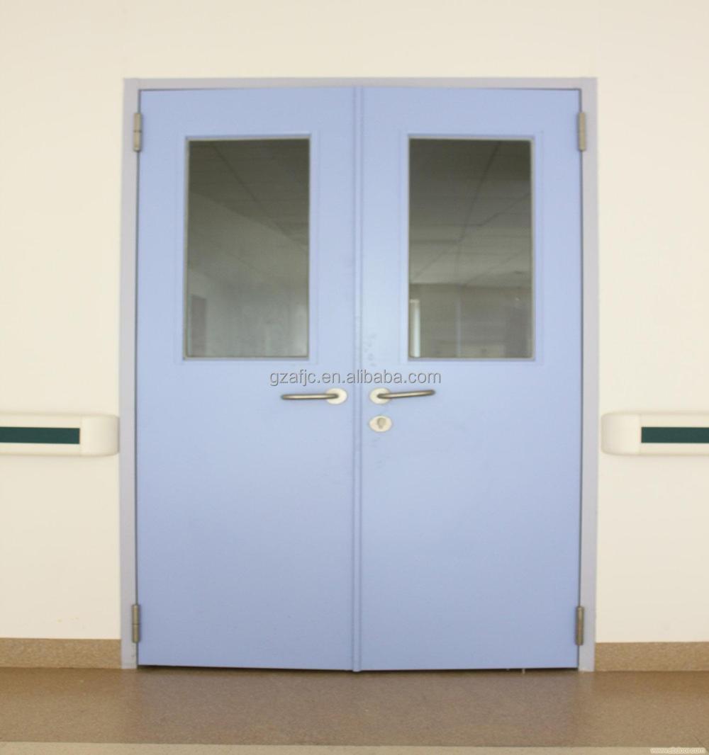Double Swing Doors Guangzhou Operating Room Doorhospital Surgery Room Doorssingle