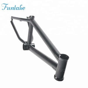 Funlake China supplier professional design oem wholesale chromoly#4130 freestyle mini bmx bicycle frame bmx bike frame