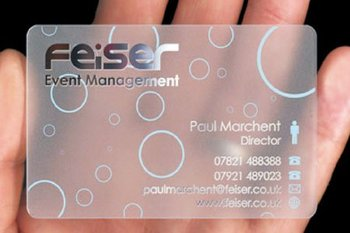 Transparent frosted business cards buy transparent frosted transparent frosted business cards colourmoves