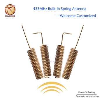 Manufacture Coil 433mhz Spring Antenna 2 15dbi Internal Helical Omni  Directional Antenna 433 - Buy 433mhz Antenna,433mhz Spring Antenna,Omni