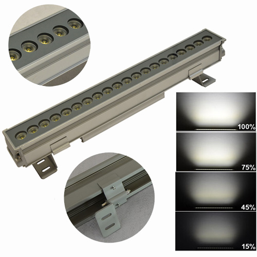 Waterproof Ip65 Led Linear Lighting Fixture Dimmable Outdoor Led ...