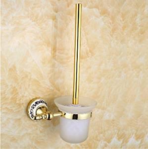 Golden stainless steel toilet brush holder set,toilet brush toilet brush holder,toilet brush,toilet brush holder,toilet brush set