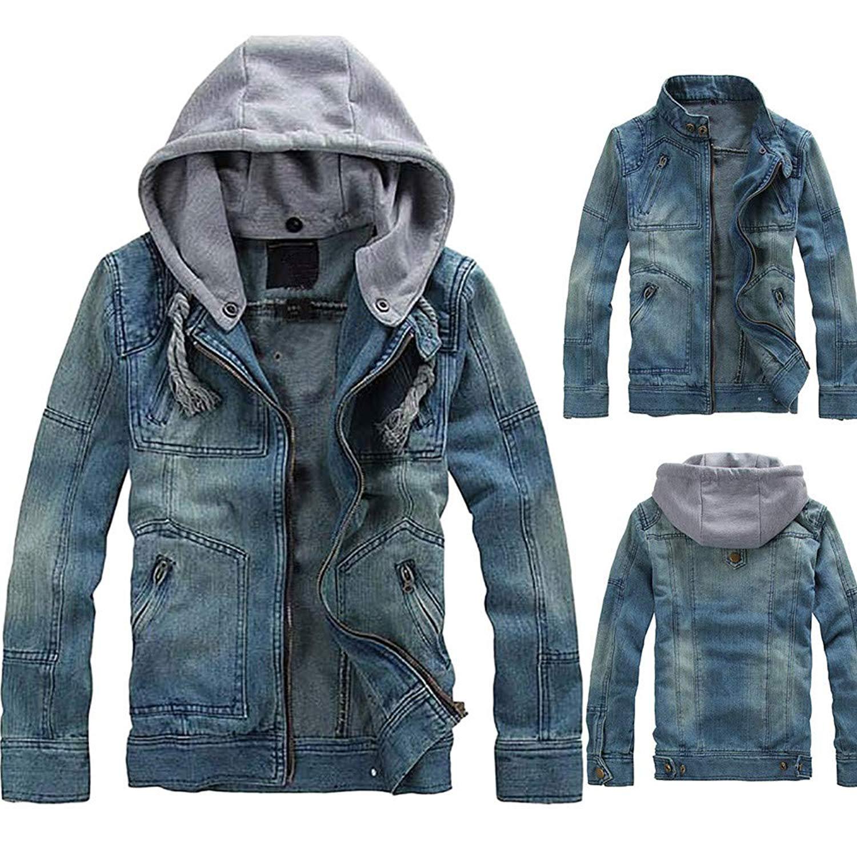 Jofemuho Womens Full Zip Outerwear Autumn Hooded Long Sleeve Crop Top Hoodie Coat