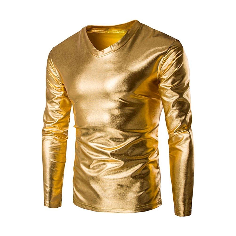 a6701ece94241 Get Quotations · Qisc Mens Tops Mens Shirts