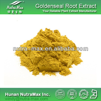Natural Goldenseal Extract, Goldenseal P.E., Goldenseal root Powder