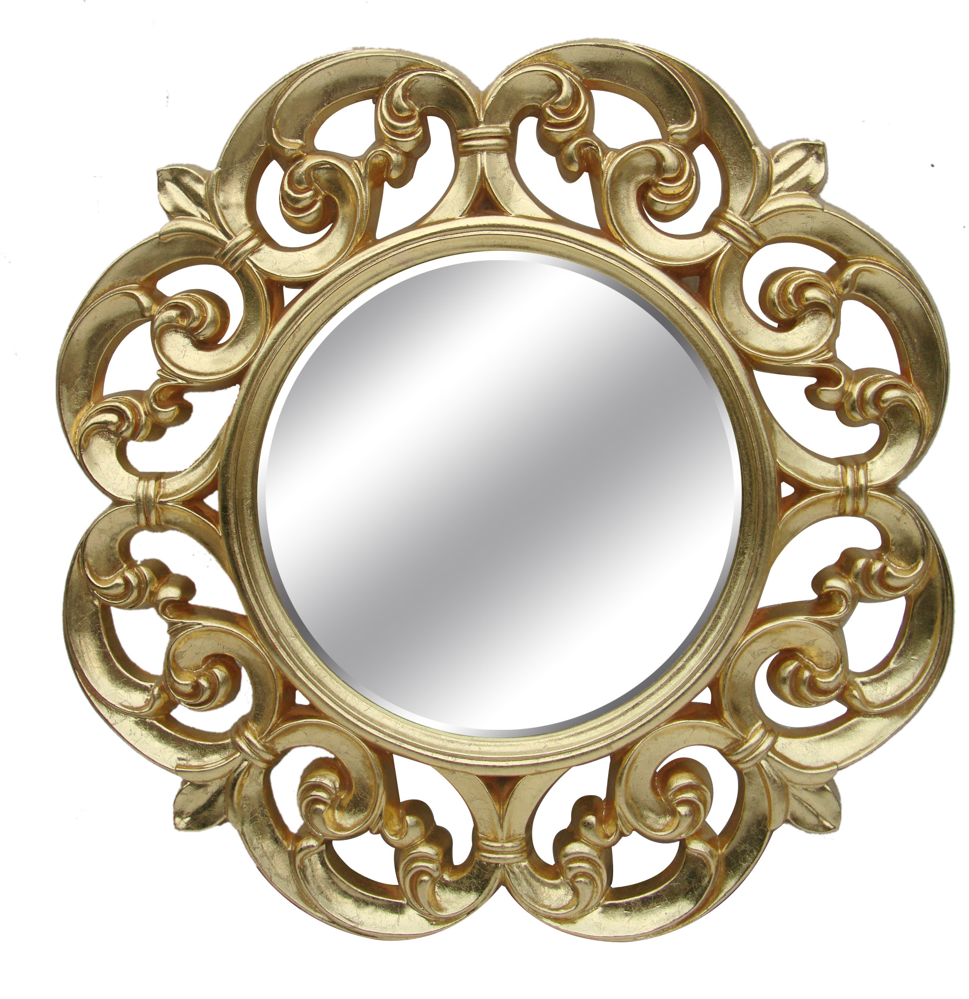 Pu Frame Round Decorative Wall Gold Antique Mirror Rustic Big Wall Mirror For Living Room Buy Vanity Mirror Room Mirror Pu Frame Material Product On Alibaba Com