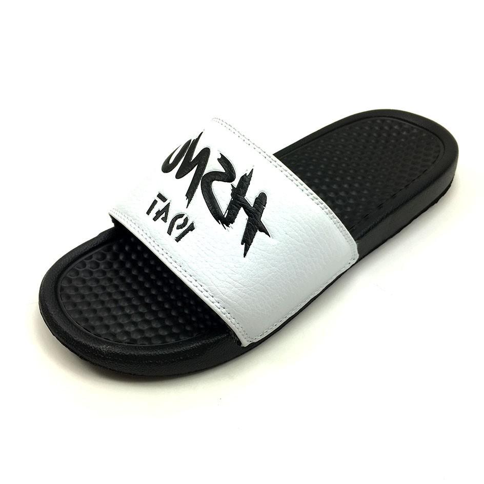 Custom Slipper Slides With Logo,Fashion Eva Nude Beach Slipper Shoes,New Foot Massage -5482
