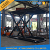 hydraulic scissor mobile vertical quick jack car lift elevator with CE