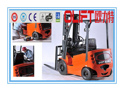 The most popular products Olift how to start a electric forklift with certificate CE ISO and SGS