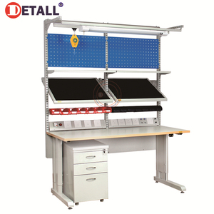 professional esd modualr garage electronics mobile electric repair workshop workstations