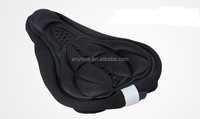 Printed wear proof secure stable mountain bike decoration seat cover