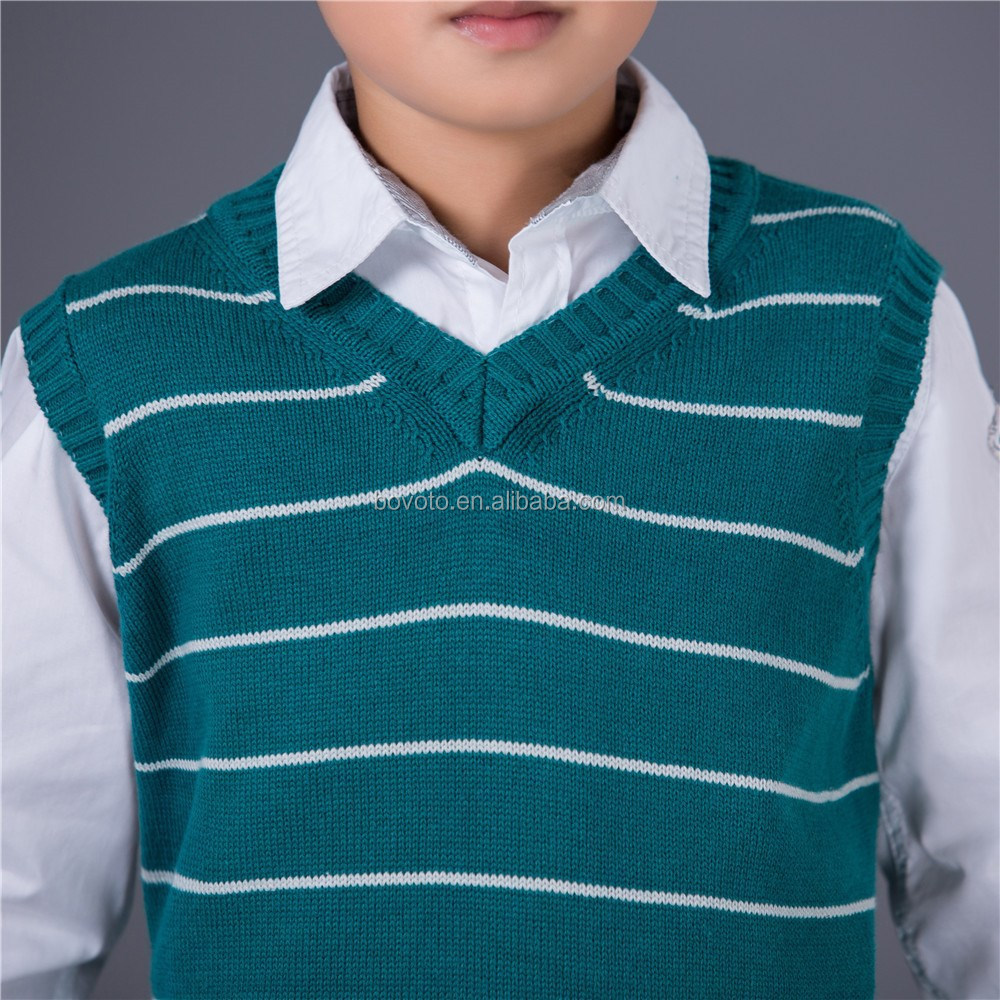 Kids Sleeveless Sweater Knitting Patterns Children Sweater - Buy ...