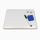 A4 frameless Double Sided Magnetic Dry Erase Lap Boards Classroom use whiteboard