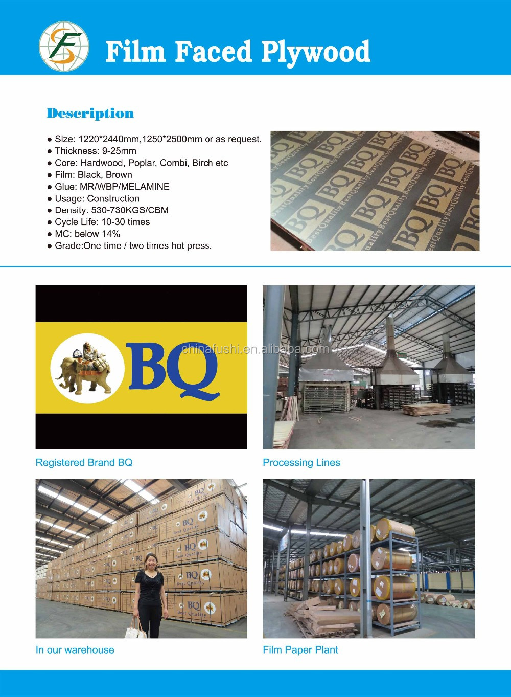 Construction materials building material 18mm melamine for Cheap construction materials