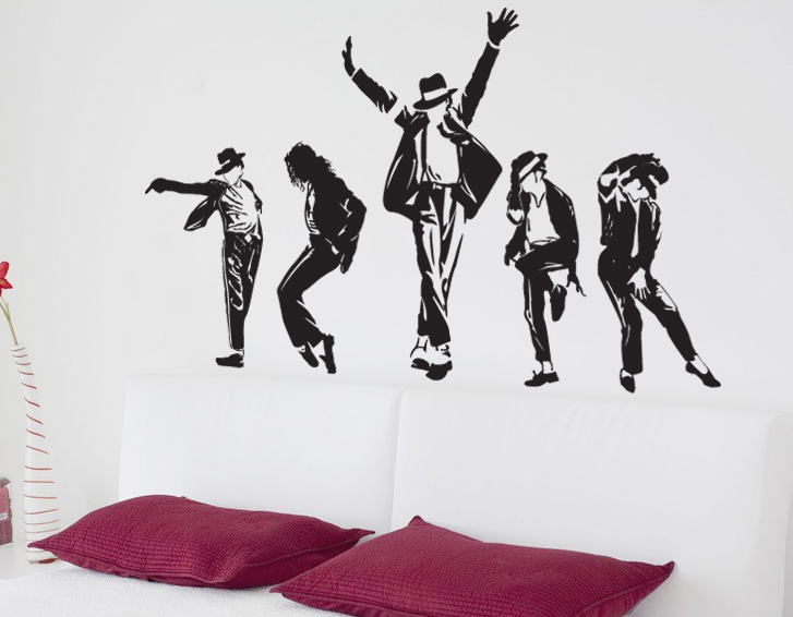 Hot Sale Vinyl Wall Sticker Trendy Style Waterproof Vinyl Removable Home Wall Custom Stickers