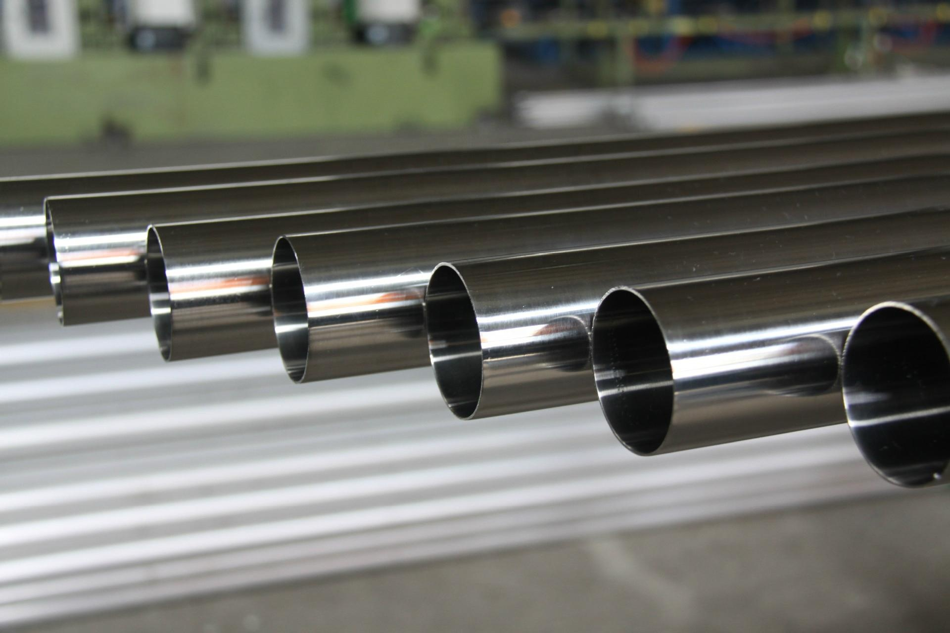 SS Professional Manufacturer supply 9mm 16inch 201 202 grade welded stainless steel pipe 4tube china