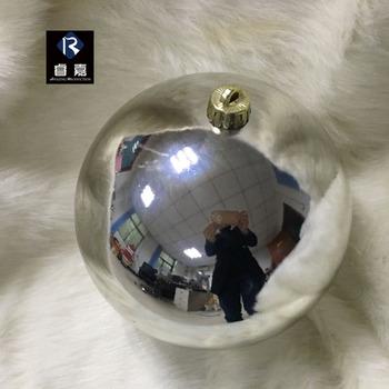 Factory Balls Christmas.Factory Supply Wholesale Large Shiny Silver 200mm Plastic Christmas Ball 1 24 Diameter Outdoor Ornament Buy Decorating Christmas Balls Christmas