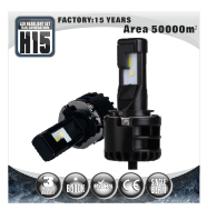 Adjustable Installation Best Led Headlights Single Beam 9005 9006 H1 Led Bulb For Car