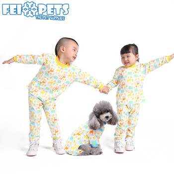 1c62b87be1 New Style Matching Dog and Human Clothes Cute Kids and Pet Pajamas Apparel