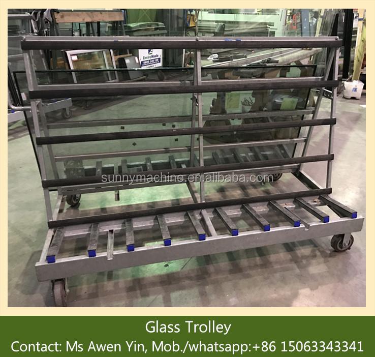 JNLC02 Harp Rack Hot Sale Glass Storage Rack/Glass Processing Machine