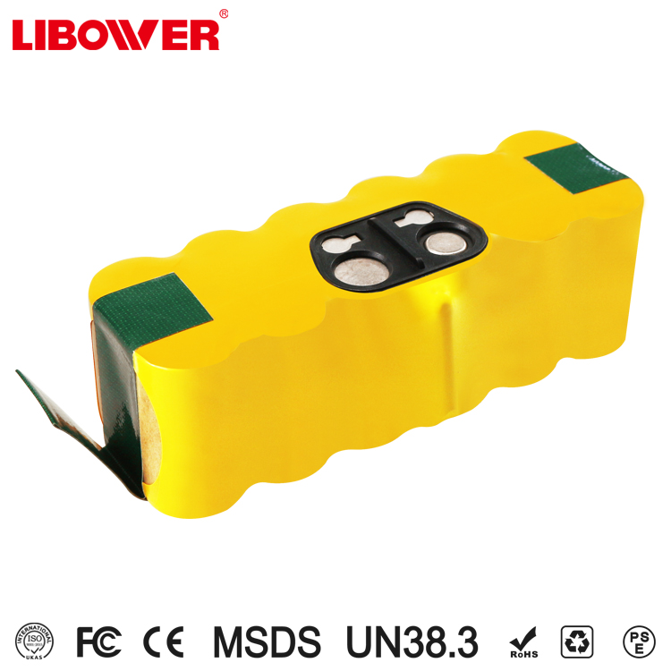 libower 14.4V ni-mh vacuum cleaner batteries for irobot roomba 500 series