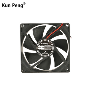 Low voltage 9225 92x92x25mm 12v dc axial extractor fan for power amplifier  cooling sleeve bearing