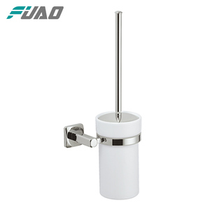 The bathroom ceramic toilet brush holder