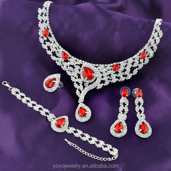 Wedding costume jewellery necklace ruby stone italian gold jewelry sets : gold costume jewellery  - Germanpascual.Com