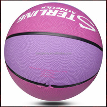 Official Size 6 Pink Women Basketball Ball