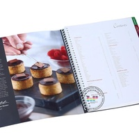 Custom high quality cheap America food cookbook/global recipe book printing