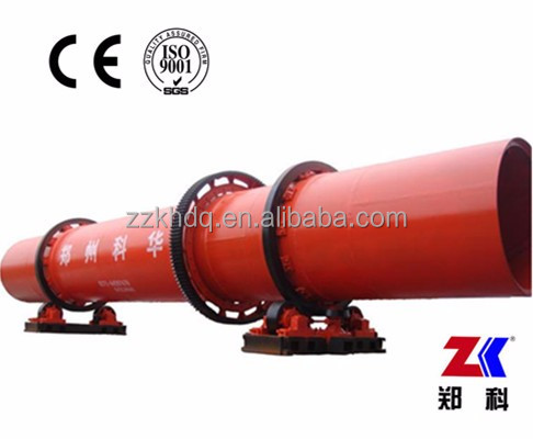 Top Quality Siliceous Sand rotary dryer or quartz sand Rotary Drum Dryer