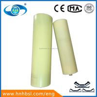OEM accept small carrier pe nylon conveyor roller upper flat roller