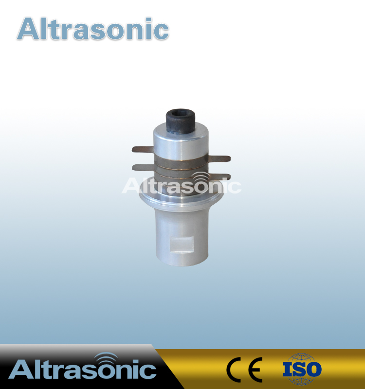 CE Approved Ultrasonic Piezoelectric Converter 30KHz 4Pcs Ceramic for Welding Machinery