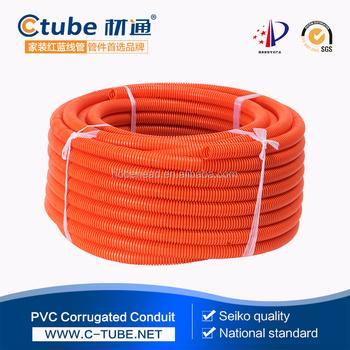 Rojo tubo corrugado el ctrico cables de alta tensi n buy - Tubo corrugado rojo ...