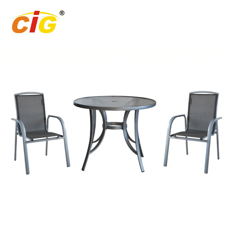 3 Pcs Asian Style Resort Outdoor Furniture
