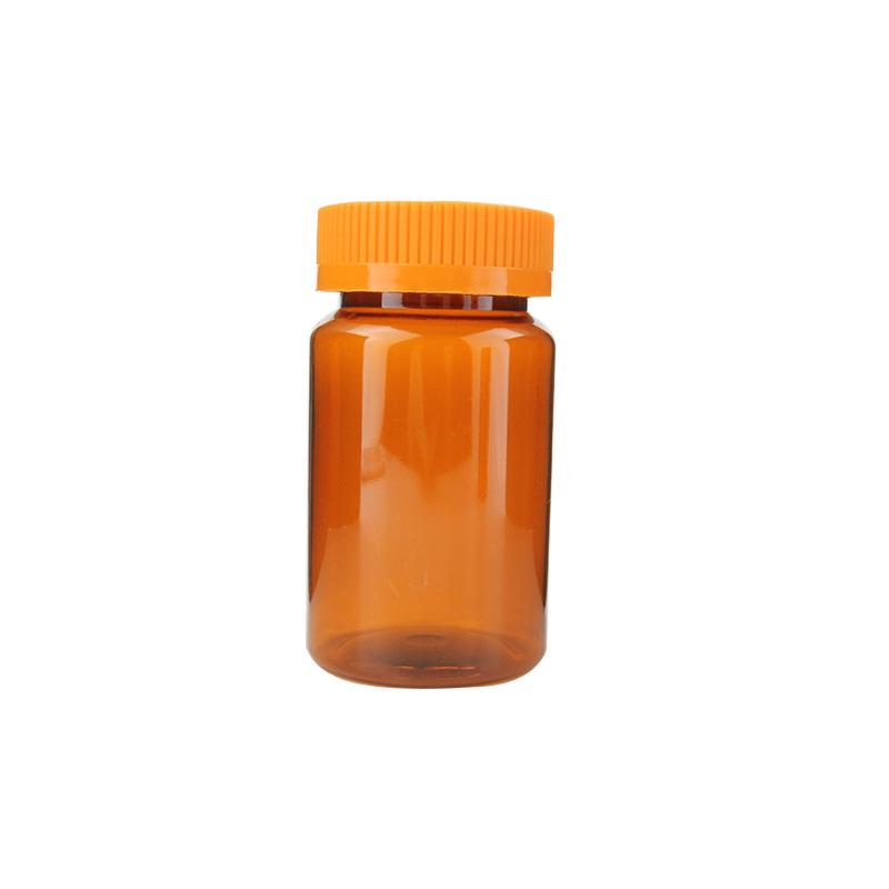 150ml 150cc Amber Plastic Packaging Pill Bottles Health Care Medecine Bottle For Sale