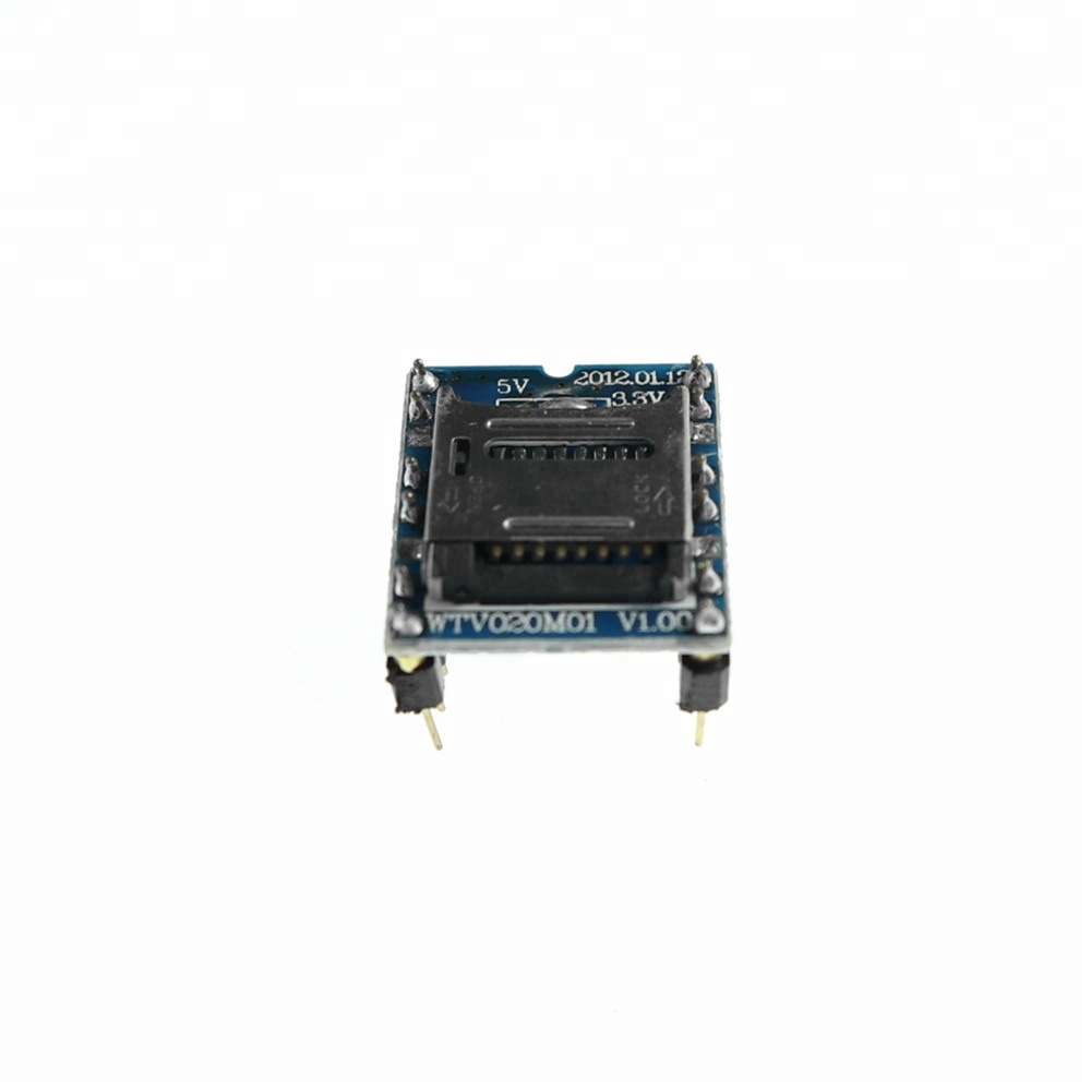 KJ489 WTV020 WTV020-SD WTV020SD-20SS Mini SD Card MP3 Sound Module voice module 대 한 PIC 아두 이노 2560 UNO R3 WTV020-SD-16P