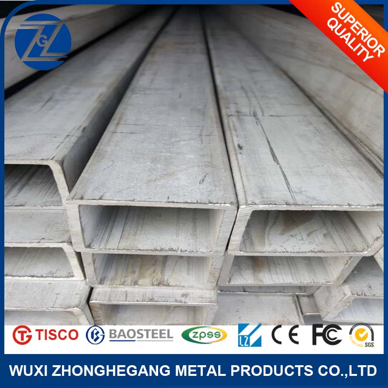 Factory Supply AISI Weld Rectangle Tube/Square Pipe 304/316/310 Stainless <strong>Steel</strong>