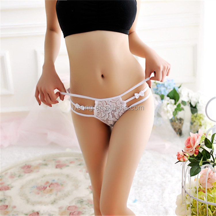 Young girls Naughty Sexy G-String Lingerie Underware
