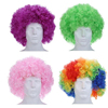 Different Colours Curly Afro Fancy Dress Funky Wig Party Clown Mens/Ladies Costume SE046
