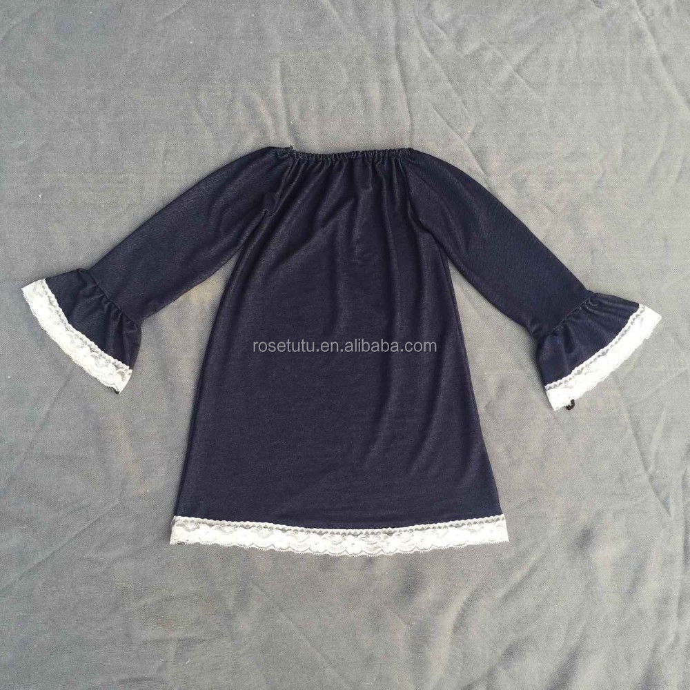 Shirt design for baby girl - Wholesale Alibaba Flared Cuffs Capri Pants Kid Clothes Frock Design For Baby Girl