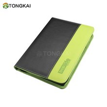Custom Faux Leather Office 쪽 주최자 & Professional business portfolio A5 pu leather/fabric 파일 홀더