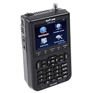"TOOGOO(R)SATlink WS-6908 3.5"" DVB-S FTA Professional Digital Satellite Signal Finder Meter"