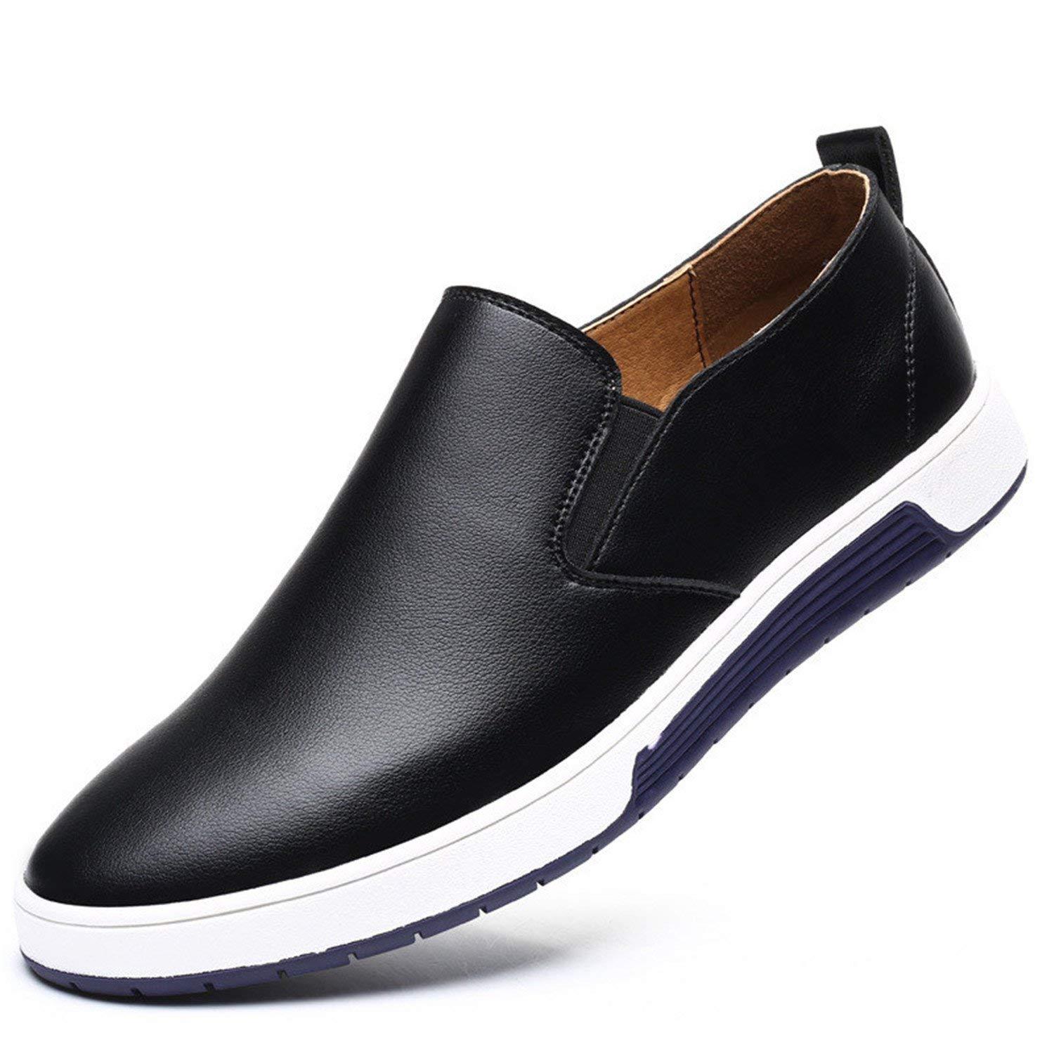 Orcan Bluce Big Size 37-48 Autumn Men Leather Loafers Slip on Casual Shoes Leisure