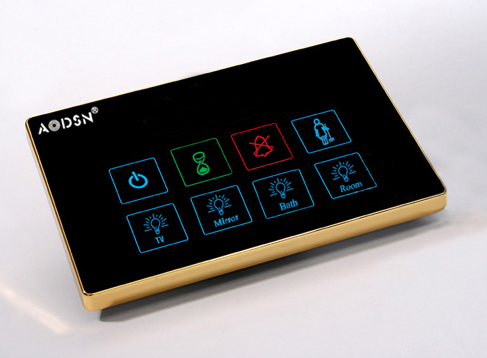 Hotel Guest Room Control System Touch Switch Bedside