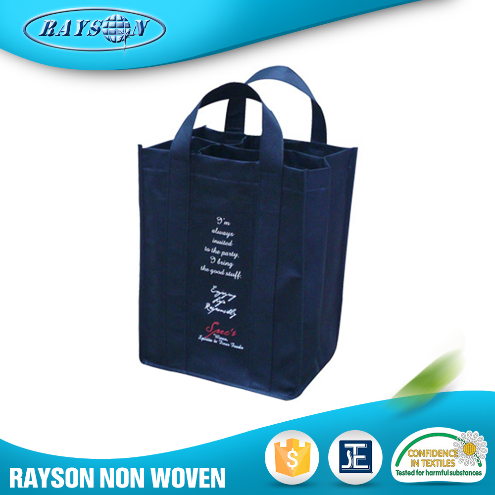 China Online Selling Pp Spunbond Beer Folding Nonwoven Bags